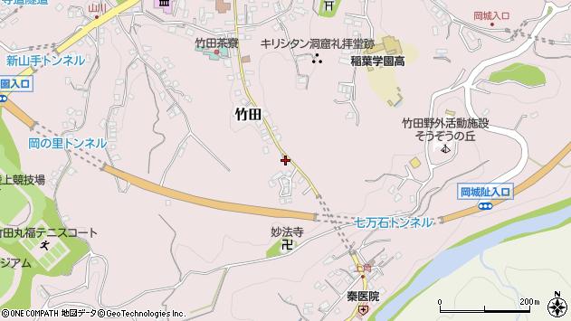 大分県竹田市竹田2470周辺の地図