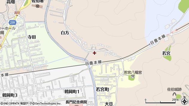大分県佐伯市鶴望3896周辺の地図