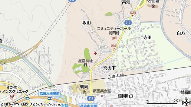 大分県佐伯市鶴望2442周辺の地図