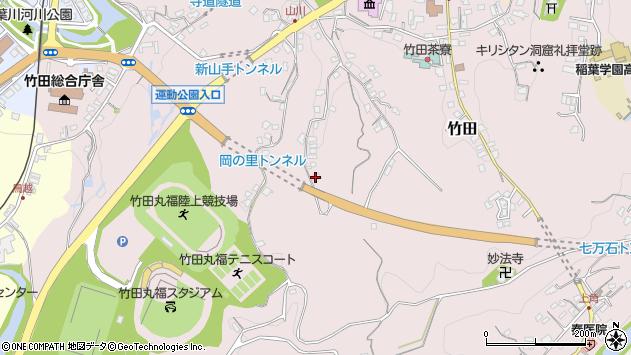 大分県竹田市竹田2304周辺の地図