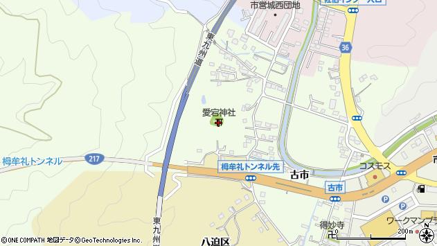 大分県佐伯市稲垣201周辺の地図