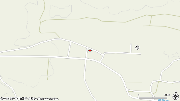 大分県竹田市今722周辺の地図