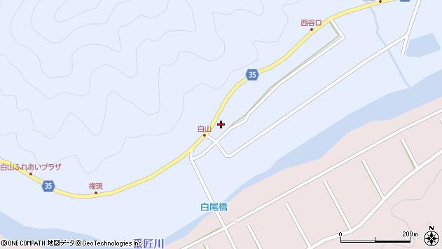 大分県佐伯市弥生大字山梨子356周辺の地図