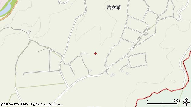 大分県竹田市片ケ瀬片ケ瀬東部周辺の地図