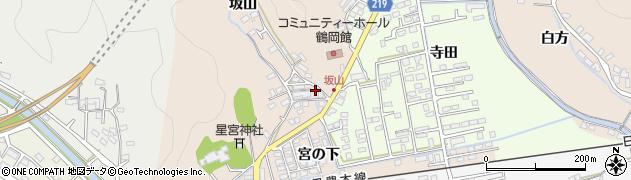 大分県佐伯市鶴望周辺の地図