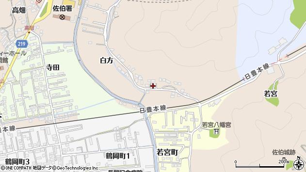 大分県佐伯市鶴望3951周辺の地図