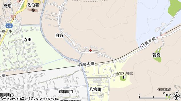 大分県佐伯市鶴望3952周辺の地図