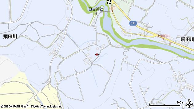 大分県竹田市飛田川957周辺の地図