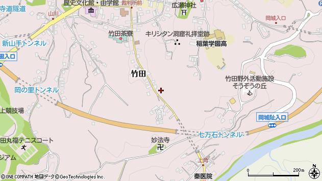 大分県竹田市竹田2472周辺の地図