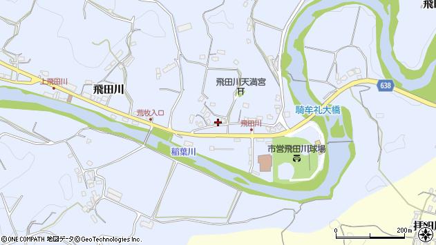 大分県竹田市飛田川2463周辺の地図