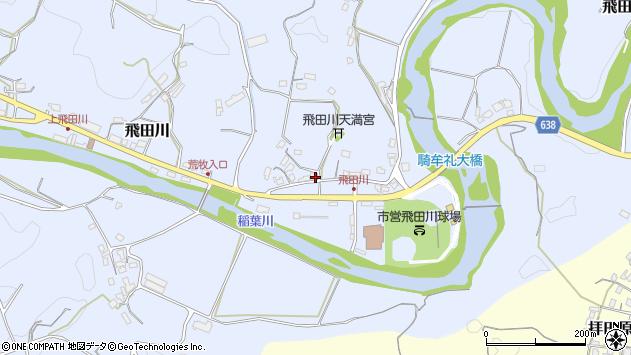 大分県竹田市飛田川2465周辺の地図
