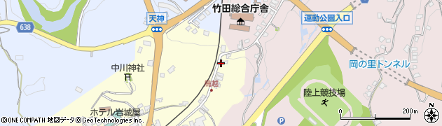 大分県竹田市拝田原67周辺の地図