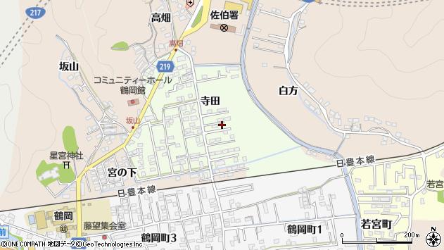 大分県佐伯市鶴望2296周辺の地図