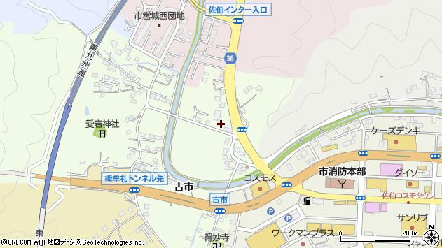 大分県佐伯市稲垣376周辺の地図