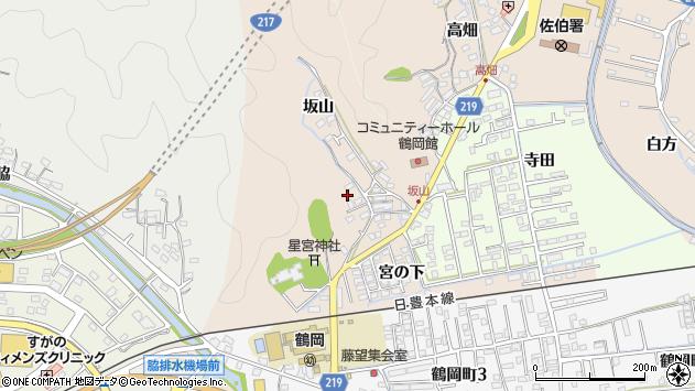 大分県佐伯市鶴望2448周辺の地図