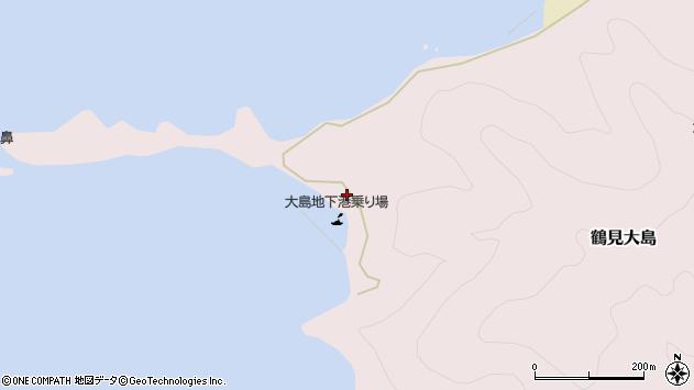 大分県佐伯市鶴見大字大島325周辺の地図
