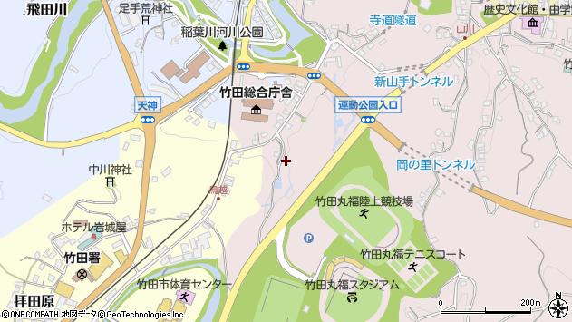 大分県竹田市竹田1494周辺の地図