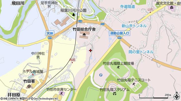 大分県竹田市竹田1498周辺の地図
