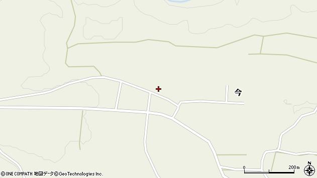 大分県竹田市今1200周辺の地図
