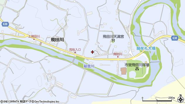 大分県竹田市飛田川2486周辺の地図