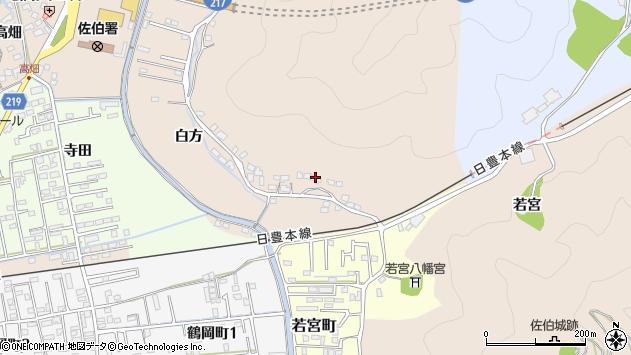 大分県佐伯市鶴望3963周辺の地図
