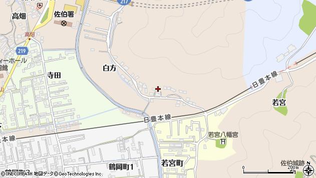 大分県佐伯市鶴望3949周辺の地図