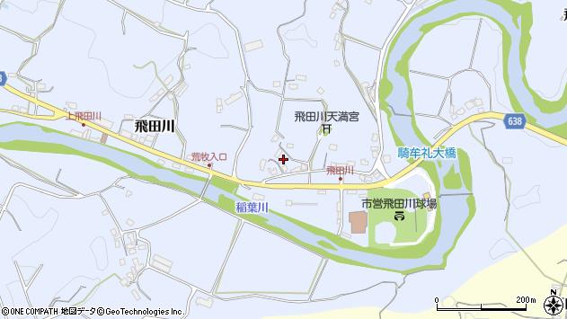 大分県竹田市飛田川2460周辺の地図