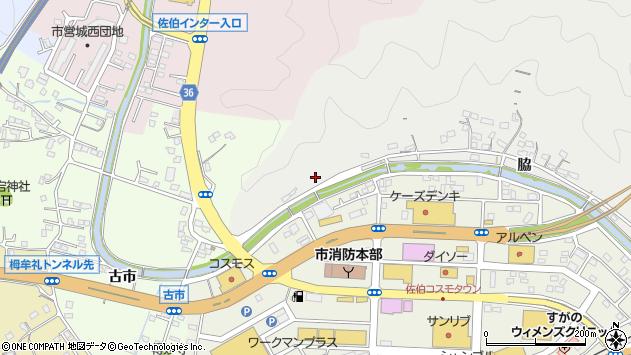 大分県佐伯市鶴望1117周辺の地図