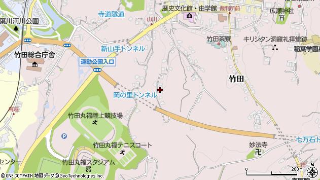 大分県竹田市竹田2308周辺の地図
