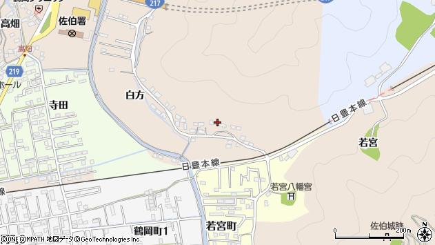 大分県佐伯市鶴望3960周辺の地図