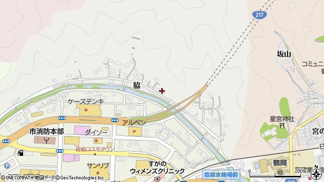大分県佐伯市鶴望1018周辺の地図