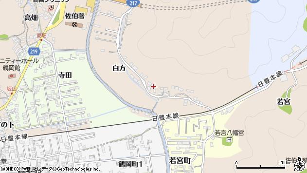 大分県佐伯市鶴望3938周辺の地図