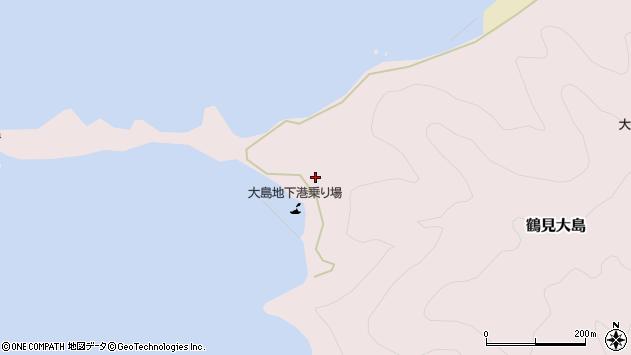 大分県佐伯市鶴見大字大島328周辺の地図