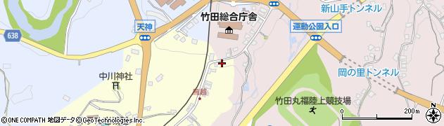 大分県竹田市拝田原61周辺の地図