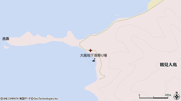 大分県佐伯市鶴見大字大島378周辺の地図