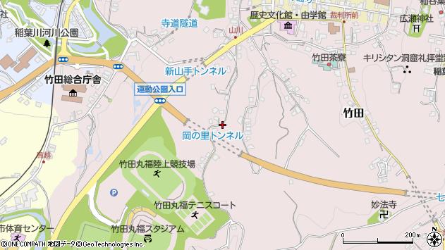 大分県竹田市竹田2212周辺の地図