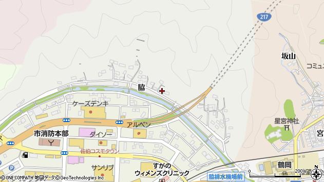大分県佐伯市鶴望1019周辺の地図