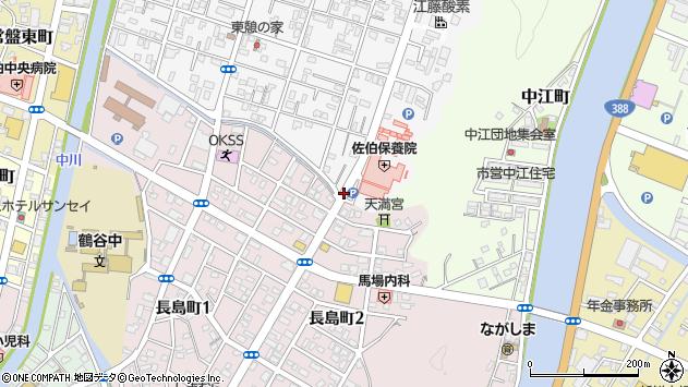 大分県佐伯市東町21周辺の地図