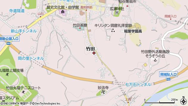 大分県竹田市竹田2437周辺の地図