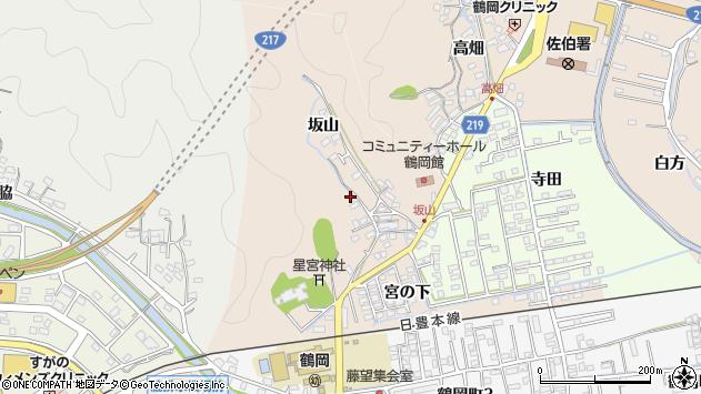 大分県佐伯市鶴望2450周辺の地図