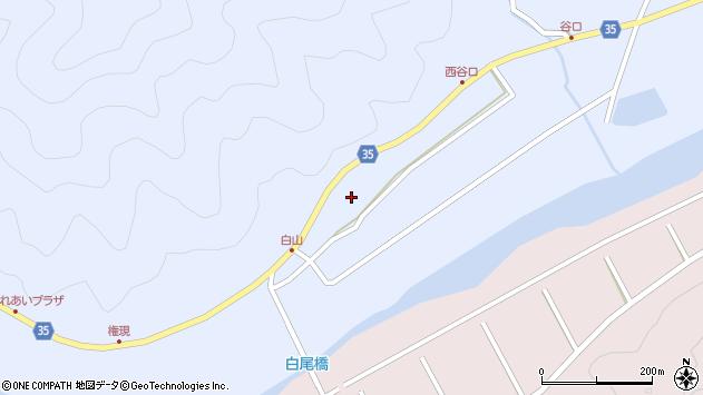 大分県佐伯市弥生大字山梨子537周辺の地図