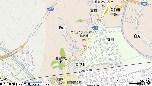大分県佐伯市鶴望2521周辺の地図