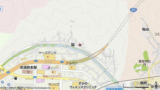 大分県佐伯市鶴望1027周辺の地図