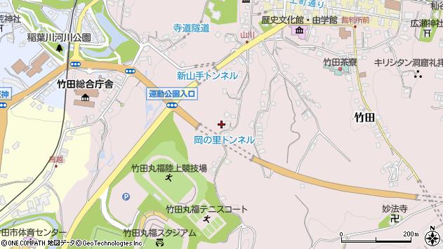 大分県竹田市竹田2210周辺の地図