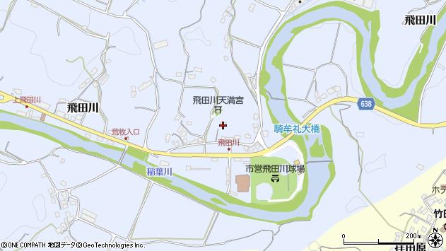 大分県竹田市飛田川2316周辺の地図