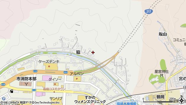 大分県佐伯市鶴望1016周辺の地図
