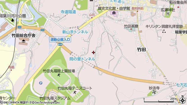 大分県竹田市竹田2259周辺の地図