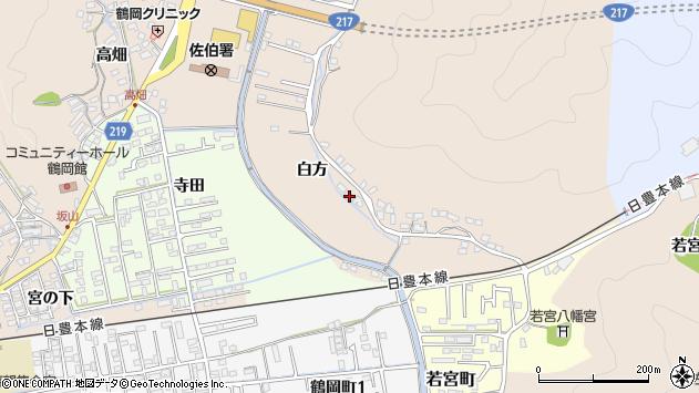 大分県佐伯市鶴望3906周辺の地図