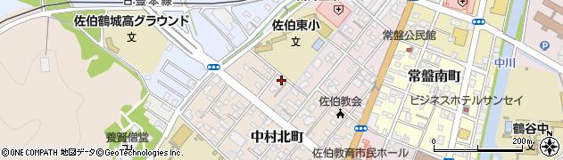 大分県佐伯市中村北町7周辺の地図