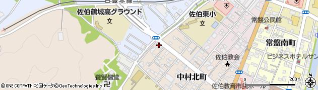 大分県佐伯市中村北町5周辺の地図